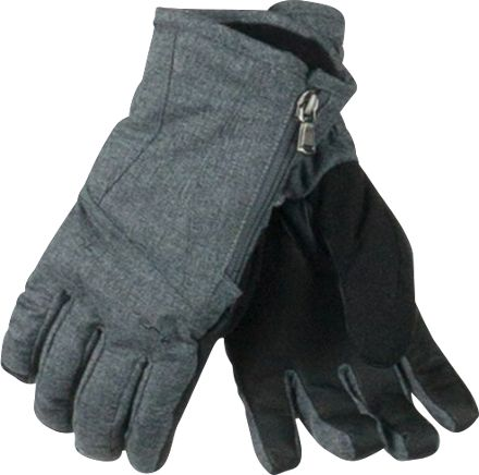 Obermeyer Alpine gloves for women are feature rich and super warm. Pick up the heat with the zippered heat warmer pocket and stay dry with the HydroBlock performance waterproof fabrics.
