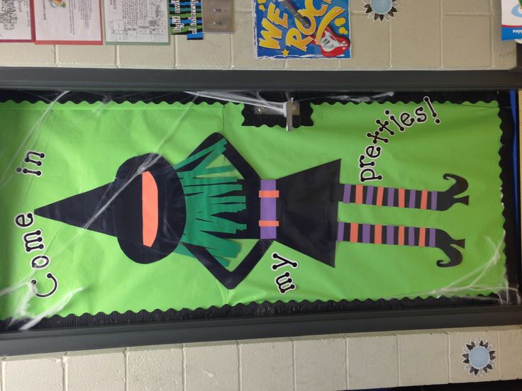 Simple Halloween Classroom Decorations ~ Best bulletin board ideas images on pinterest art