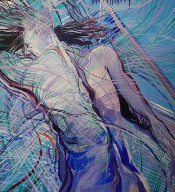 "Saatchi Online Artist Susanna Cardelli; Painting, ""Sleep"""