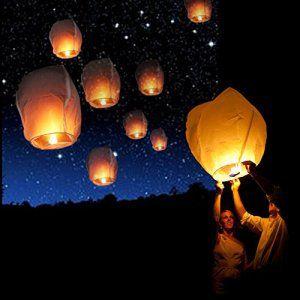 25 best ideas about lanterne volante on nuit de c 233 r 233 monie de mariage lanterne