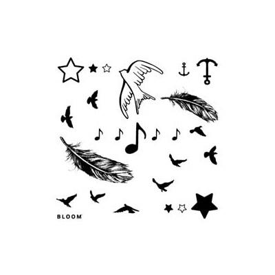 Les tatouages éphémères Bloom testés par @I Love Paris, France mais y a pas le motif que je cherche :/