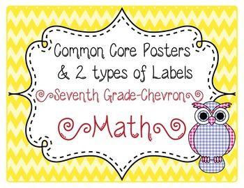 7th grade common core labels