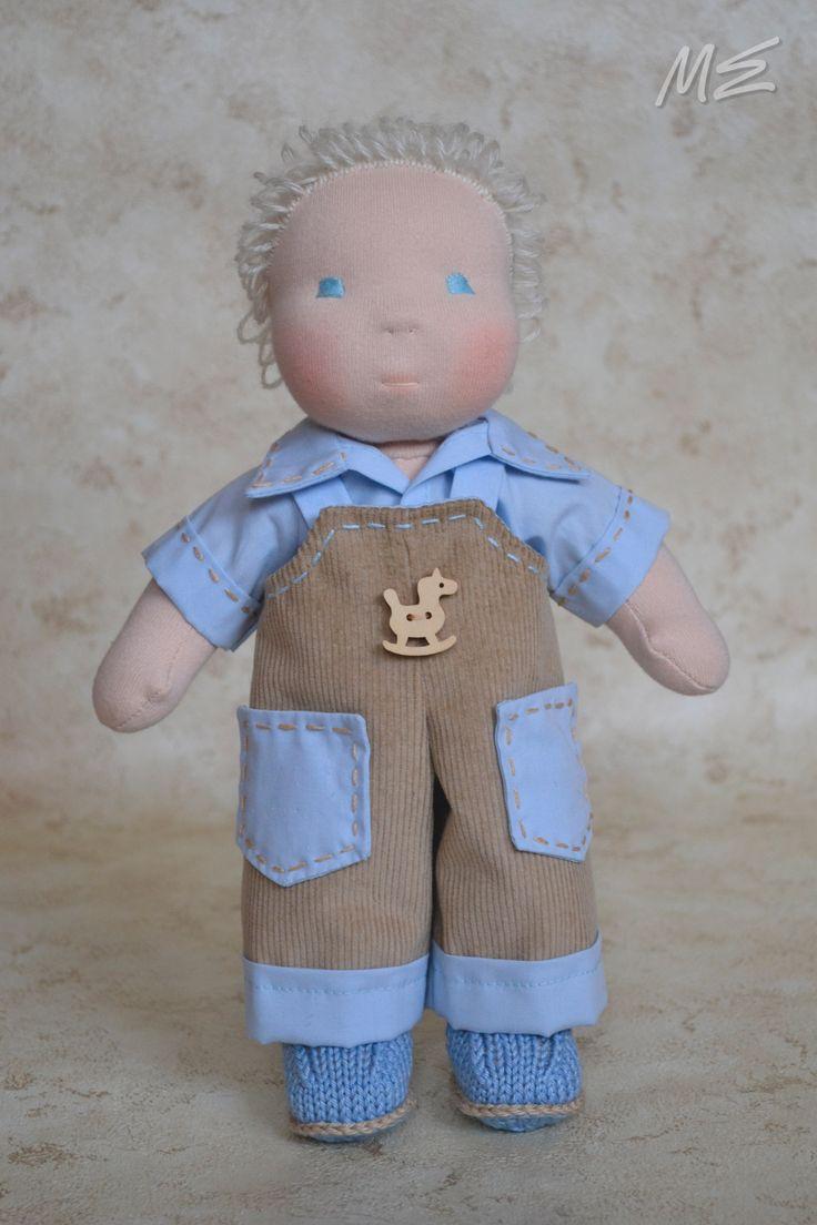 вальдорфская кукла-пупсик Сенечка,  waldorf doll