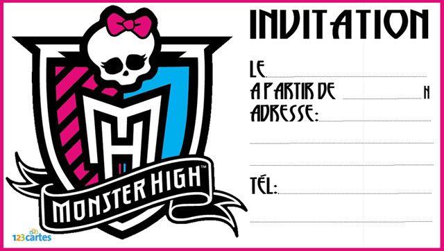 Decoration Anniversaire Fille Monster High