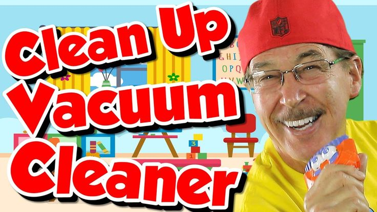 Clean Up Vacuum Cleaner | Kids Song for Cleaning Up | Jack Hartmann
