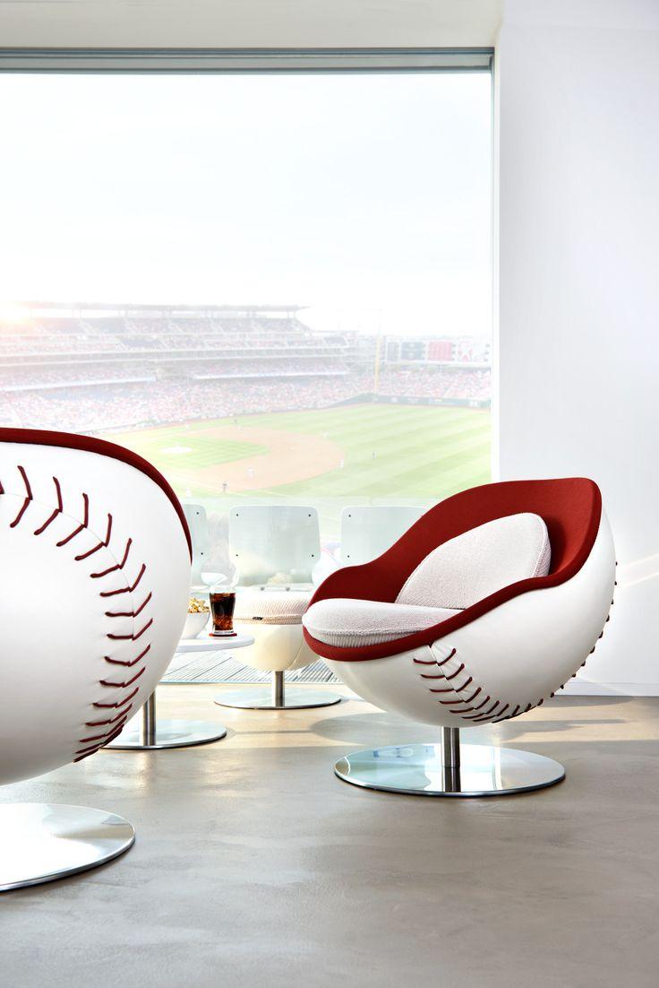 Besonders Die Baseball Variante Des Lillus Loungesessel Punktet Mit  Raffinierten Details Und Liebevoller Handarbeit. Das Ergebnis: Ein übu2026 |  Pinteresu2026
