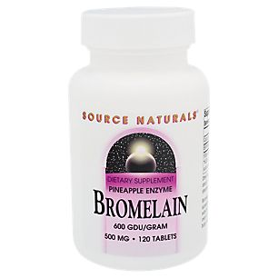 Bromelain 500 MG (120 Tablets)  by Source Naturals at the Vitamin Shoppe