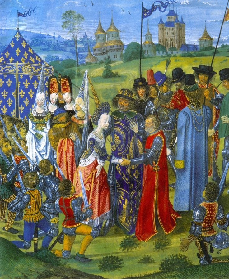 The Marriage of Catherine of Valois and Henry V of England in 1420 - detail