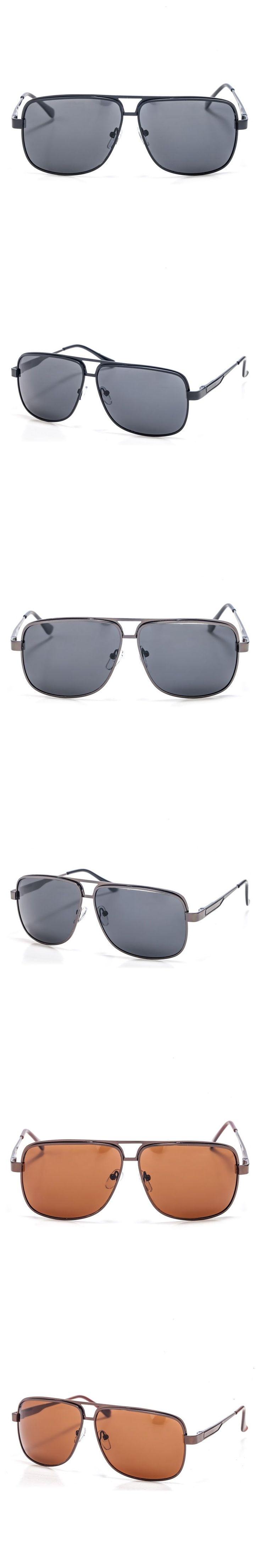2017 Smileyes Fashion men Sunglasses Pilots style Popular Brand Designer Sun Glasses For men sun Glass male for driver