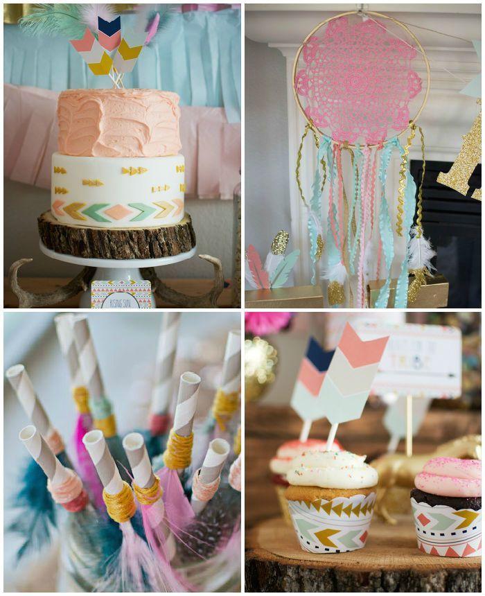Tribal Princess Birthday Party via Kara's Party Ideas   http://KarasPartyIdeas.com (3)