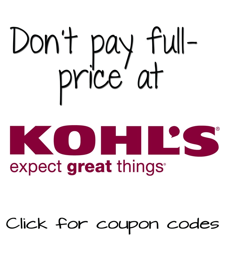 Kohls coupons for in store shopping