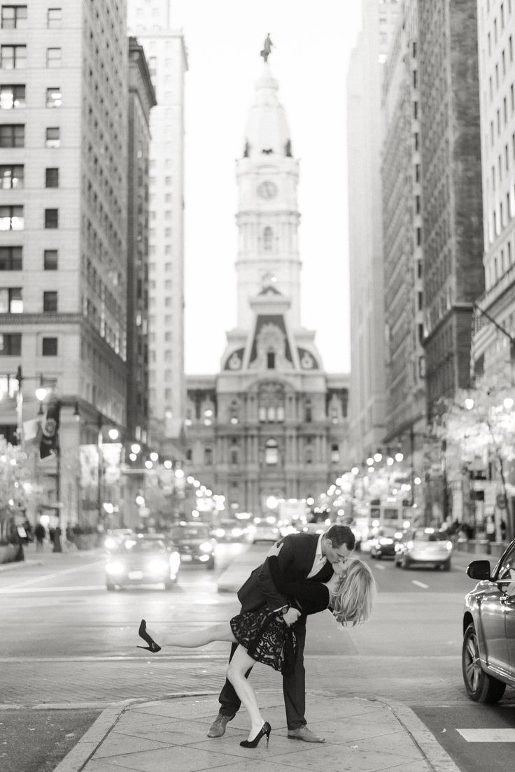 Engagement shoot in Philadelphia