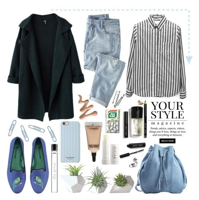 Untitled #147 by carolina-clemente on Polyvore featuring Pussycat, Wrap, Blue Bird, Meckela, Isaac Mizrahi, Bobbi Brown Cosmetics, MAC Cosmetics, Fresh, Dot & Bo and BOBBY