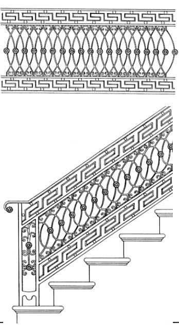 Stair Railing Designs ISR032 Iron Hand Railing | Interior Railing | Handrails []…