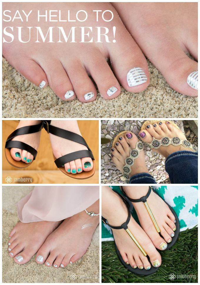 Jamberry Pedicure: How to Have Great Looking Toes - rockabyeparents.com