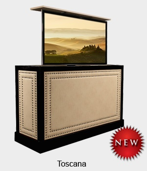 introduce star style with a tv lift cabinet