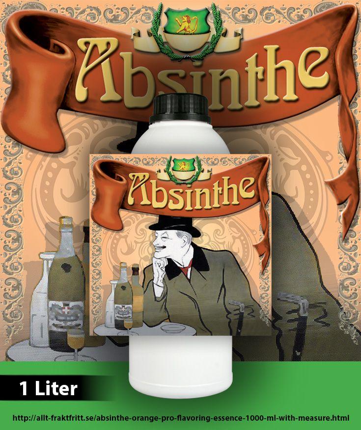 Absinthe Orange har äkta apelsinolja som inte finns i den klassiska Absinthen och därför smakar den väldigt unikt och tillfredsställande. Opaliserar  Mer information och tydliga instruktioner medföljer på etiketten som finns på flaskan.  20 ml essens blandas till en flaska sprit på 750 ml, räcker till 50 flaskor. Mått medföljer