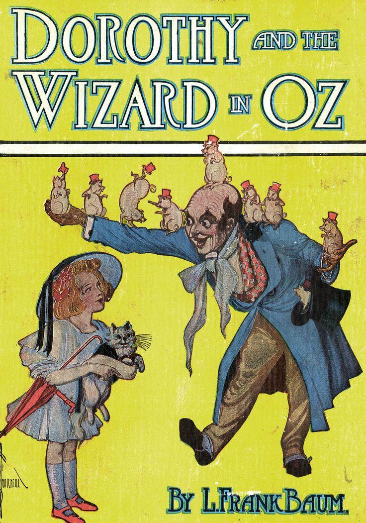 John R. Neill «Dorothy and the Wizard in Oz» Иллюстратор John R. Neill Автор L. Frank Baum Сказка «Удивительный волшебник из страны Оз» Страна США Год издания 1908