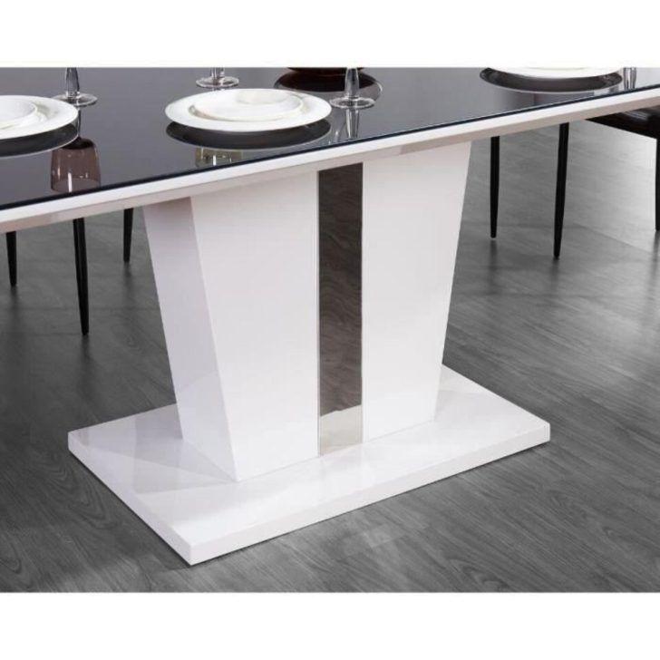 Interior Design Table Laque Blanc Trevise Table A Manger 180x90cm
