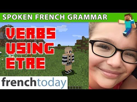 39 best french images on pinterest learn french learn to speak learn french verbs using tre in pass compos minecraft sciox Choice Image