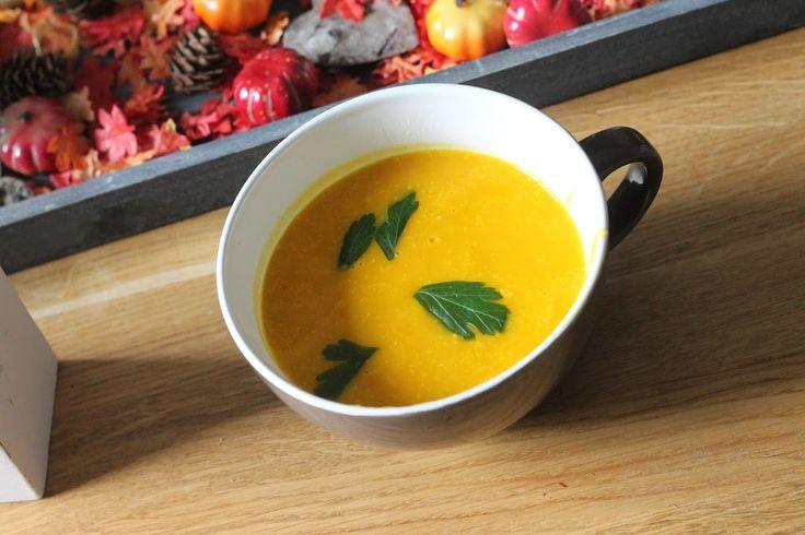Herfst-recept | Pittige Pompoensoep