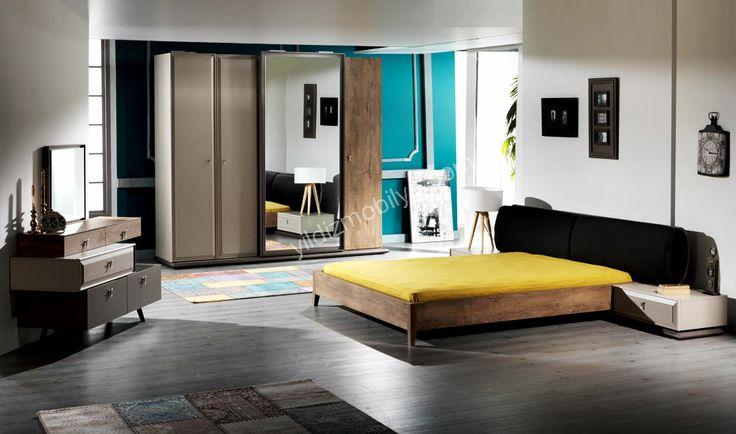 New Modern Yatak Odası  Yatak Odası Modelleri Yıldız Mobilya Alışveriş Sitesinde #bed #bedroom #avangarde #modern #pinterest #yildizmobilya #furniture #room #home #ev #young #decoration #moda       http://www.yildizmobilya.com.tr/