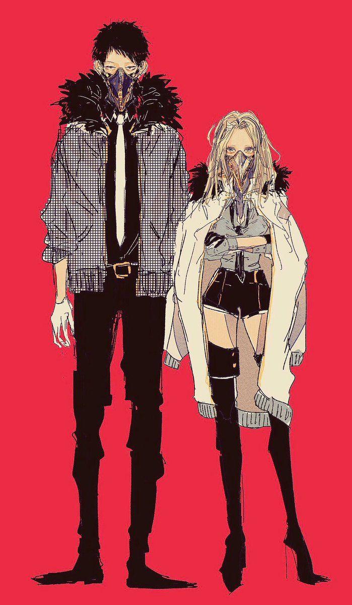 Boku no Hero Academia    Overhaul/Chisaki    Eri