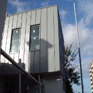 Metal Cladding Systems - St Kilda Snaplock Windspray