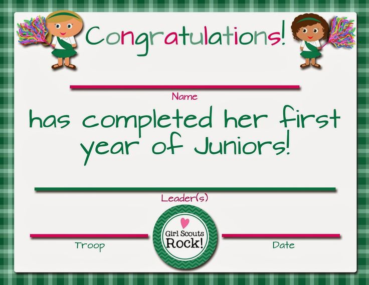 girl scout juniors clip art - Google Search