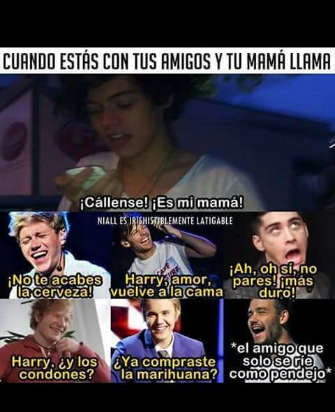 Imagen de one direction, frases, and memes