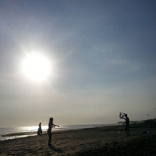 Sunset Play ♡♡ #Bali #RealBali