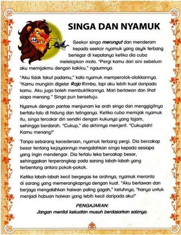 Cerita Pendek Kanak2 Malay Language Reading Passages Stories For Kids