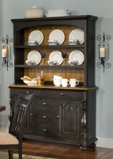 17 best images about painted furniture if only he would for Painted dining room hutch ideas
