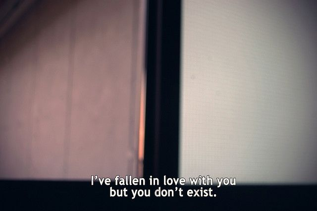but you don't exist
