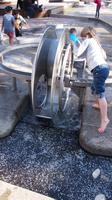 Darling Quarter Playground in Sydney is hours of fun and located at Darling Harbour.