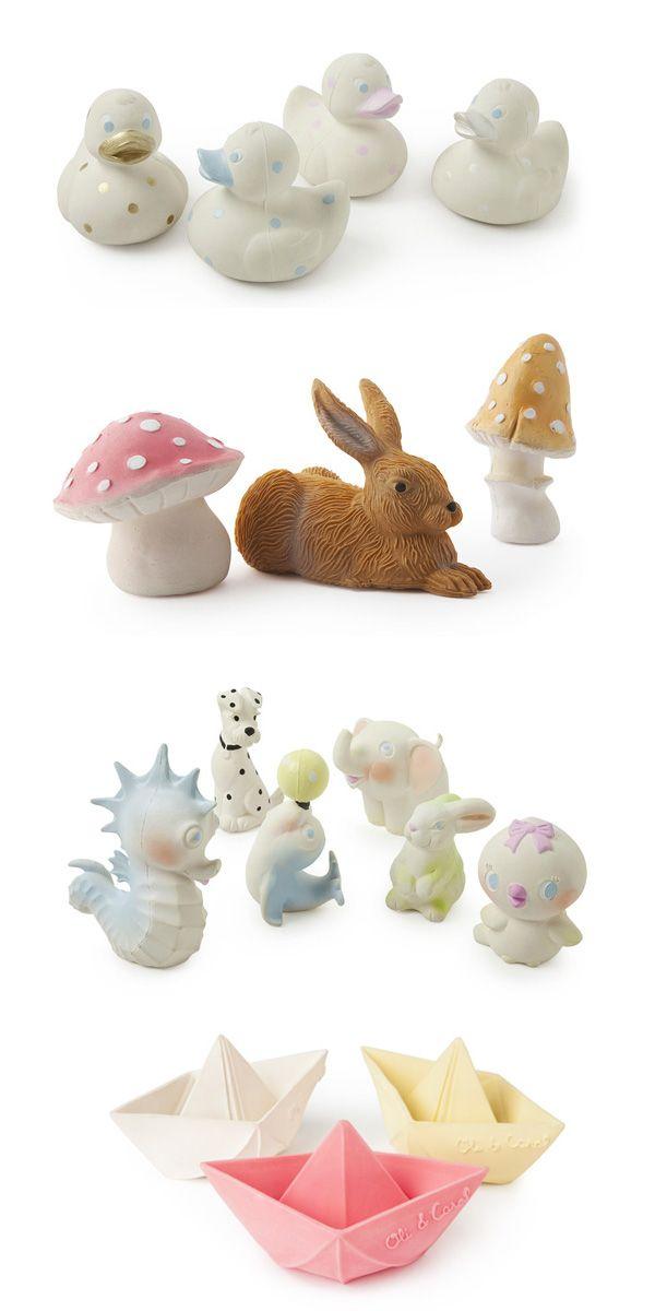 Oli & Carol Rubber Baby Toys