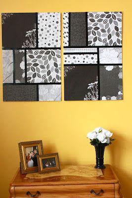 DIY Easy Wall Art