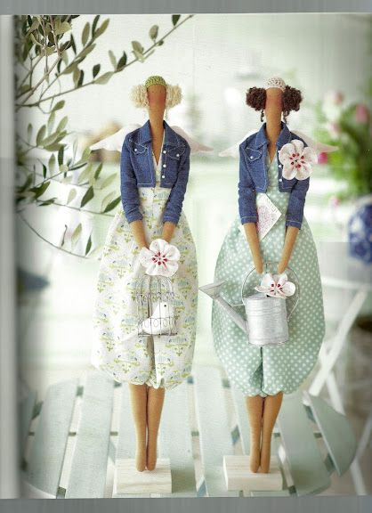 """Tilda dolls by """"collezione by handmade"""" on Flickr"""