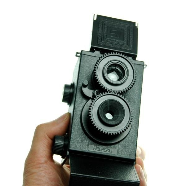 DIY 35mm Twin-Lens Reflex Camera  - if anyone sees the need to get me this, please do.