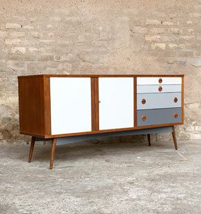 1000 ideas about meuble buffet on pinterest buffet for Meuble mid century montreal