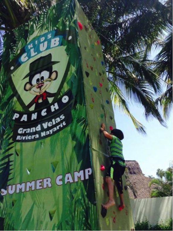 我们夏令营为孩子提供各种各样的运动和户外游戏