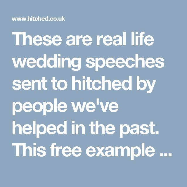 1000 ideas about Wedding Speeches – Wedding Speech Example