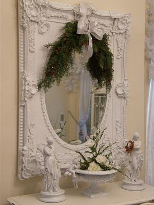 Love this mirror (from Vintage Chic Furniture)!