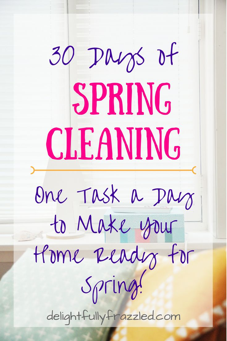 One task a day to get your home feeling fresh and ready for the warmer weather! Includes a free downloadable calendar | spring cleaning | cleaning hacks | one task a day | clean home | cleaning with kids | spring has sprung | fresh home | spring 2017 | free printable | new blog post | mom blog | stay at home mom
