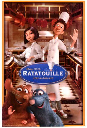 Ratatouille, definitely in my top 10 animated movies list!