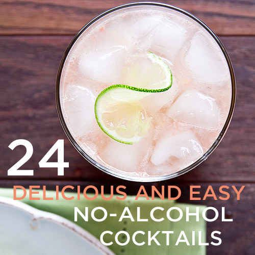 24 Deliciously Simple Non-Alcoholic Cocktails - Since I'm not drinking for a while...!