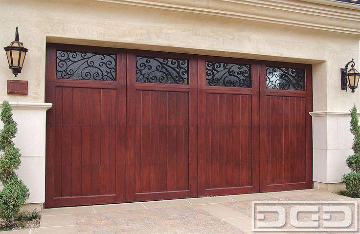 Dynamic Garage Door | Custom Architectural Garage Door : Mediterranean Revival