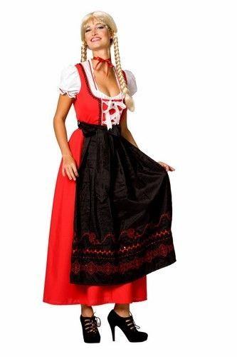 9fcecc53b45abc Dirndl jurk lang model
