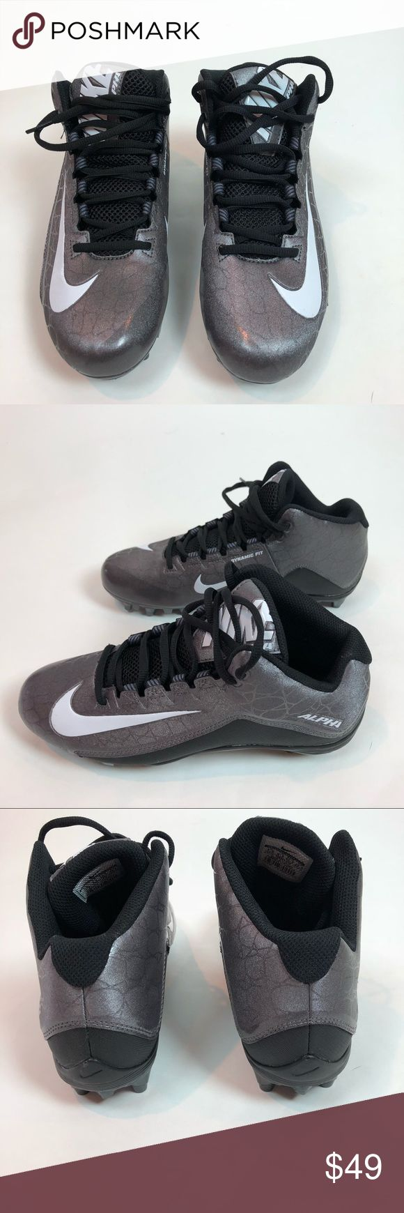 Nike Mens Football Cleats Alpha Strike 2 Size 7.5 Brand new without box! Nike men's football cleats. Nike Shoes Athletic Shoes