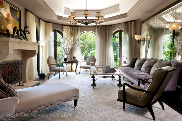 Kris Jenner's L.A. mansion has been redecorated by Jeff Andrews. 2015